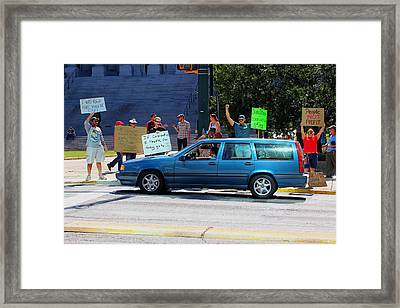 I Was Told There Would Be Cake Framed Print by Joseph C Hinson Photography