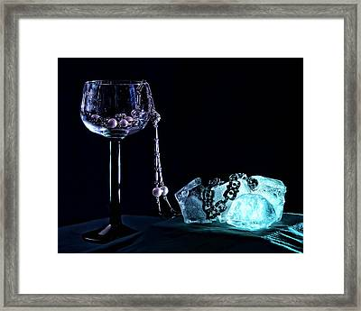 Ice Framed Print by Camille Lopez