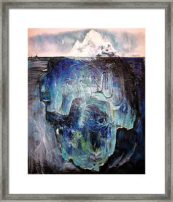 Iceberg Framed Print by Tanya Kimberly Orme