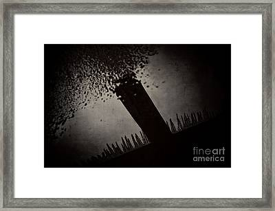 Icicles Framed Print by HD Connelly