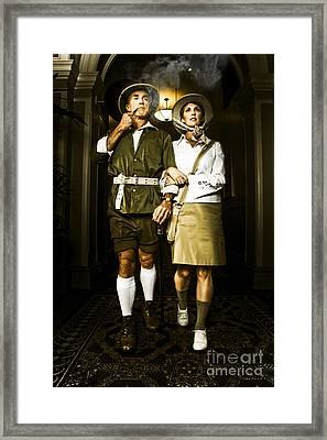 Ideological Retro Missionary Explorers Framed Print by Jorgo Photography - Wall Art Gallery