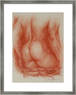 Il Emoi Framed Print by Guillaume Bruno