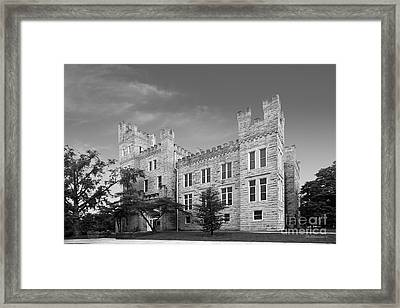 Illinois State University Cook Hall Framed Print by University Icons
