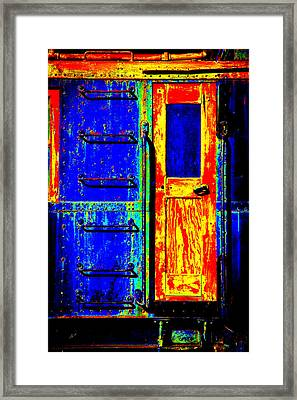 Impressionistic Photo Paint Gs 017 Framed Print by Catf