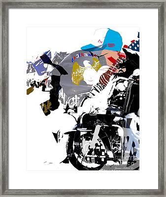 In It Together Framed Print by Robert Jensen