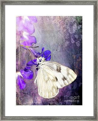 In The Garden Framed Print by Betty LaRue
