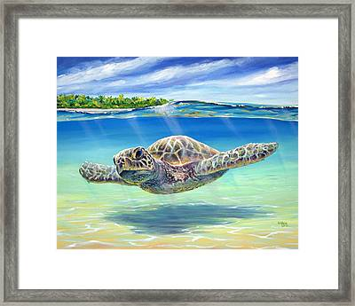 In The Shallows Framed Print by Patrick Parker