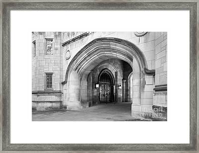 Indiana University Memorial Hall Framed Print by University Icons