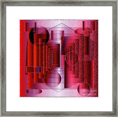Infinity Framed Print by Iris Gelbart