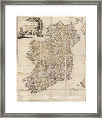 Ireland Framed Print by British Library