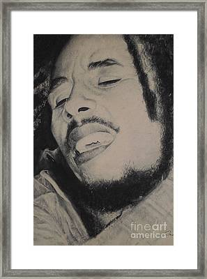 Irie Passion Framed Print by Adrian Pickett