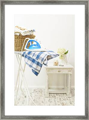 Ironing Framed Print by Amanda And Christopher Elwell