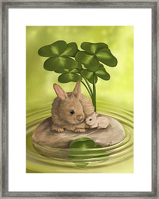 Island Of Happiness Framed Print by Veronica Minozzi