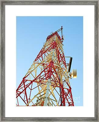 It Tower Framed Print by Sinisa Botas