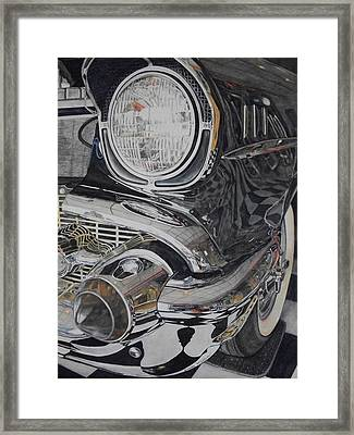 It Was A Very Good Year-two Framed Print by Brenda McCollum