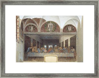 Italy, Lombardy, Milan, Credito Framed Print by Everett