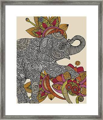 Ivan Framed Print by Valentina Ramos