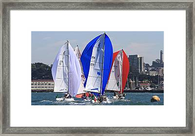 J70s San Francisco Framed Print by Steven Lapkin