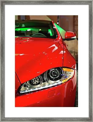 Jaguar Xjr Framed Print by Jim West