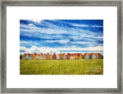 Jakriborg Digital Painting Framed Print by Antony McAulay