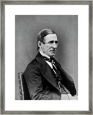 James Paget Framed Print by National Library Of Medicine