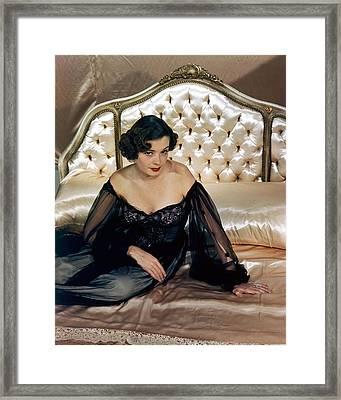 Jane Greer Framed Print by Silver Screen