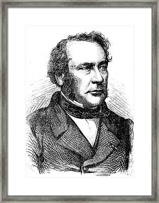 Jean-baptiste Boussingault Framed Print by Collection Abecasis