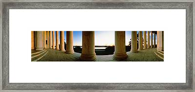Jefferson Memorial Washington Dc Usa Framed Print by Panoramic Images