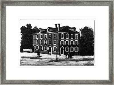 Jefferson's House, 1776 Framed Print by Granger