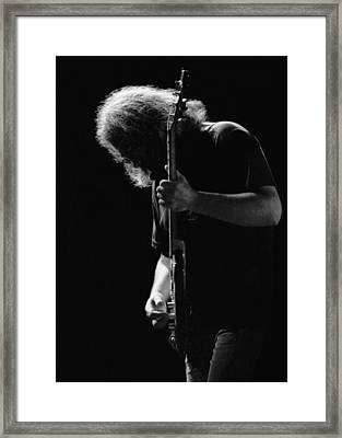Jerry Sillow Framed Print by Ben Upham