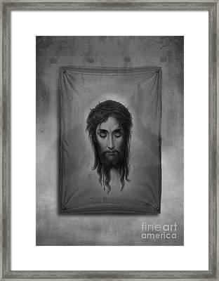 Jesus Christus Framed Print by Edward Fielding