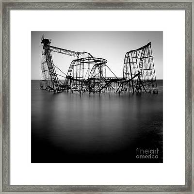 Jet Star Framed Print by Ray Cavicchio