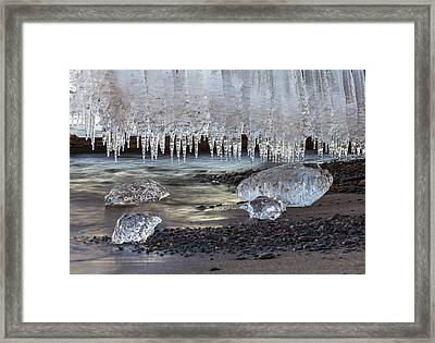 Jewels Of Superior Framed Print by Mary Amerman