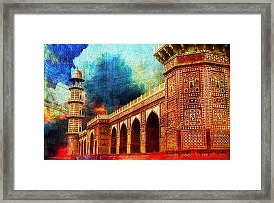 Jhangir Tomb Framed Print by Catf