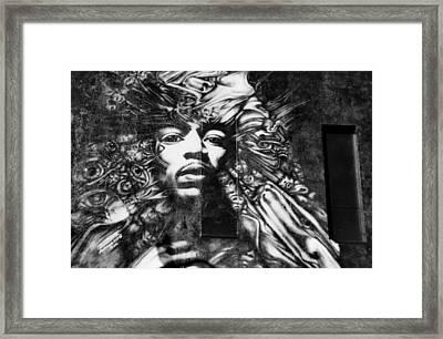 Jimmy Framed Print by Glenn McGloughlin