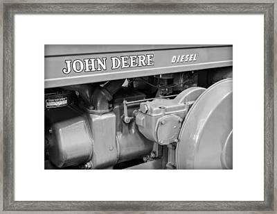 John Deere Diesel Framed Print by Susan Candelario