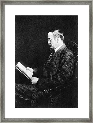 John Jacob Abel Framed Print by National Library Of Medicine