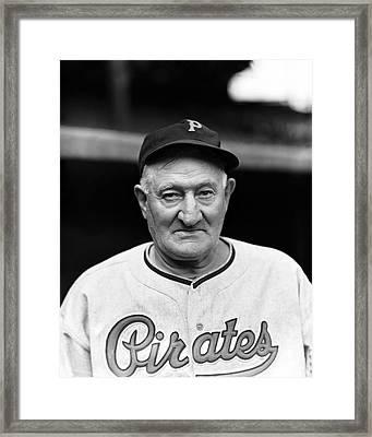 John P. Honus Wagner Framed Print by Retro Images Archive