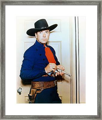 Johnny Mack Brown Framed Print by Silver Screen