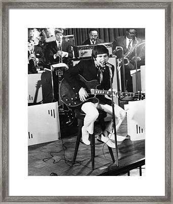 Johnny Rivers Framed Print by Silver Screen