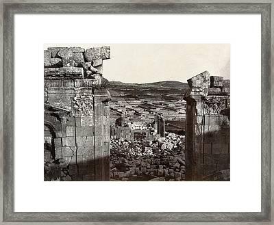 Jordan Jerash Framed Print by Granger