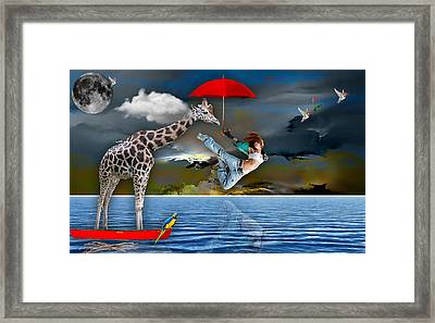 Journey Framed Print by Marvin Blaine