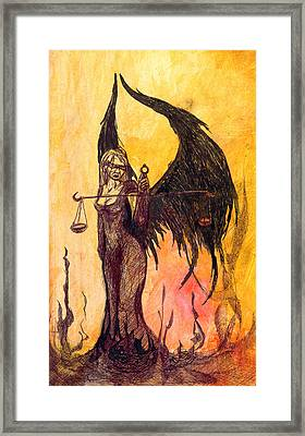 Themis Framed Print by Kd Neeley