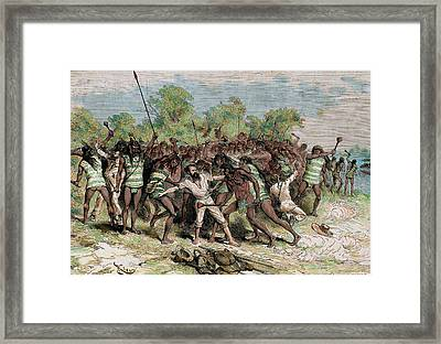 Jules Nicholas Crevaux (lorquin Framed Print by Prisma Archivo