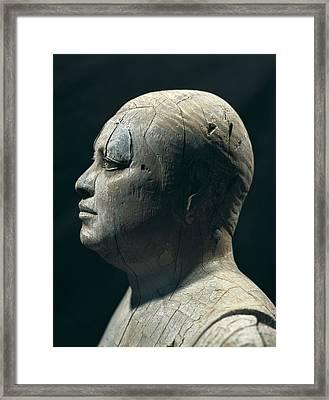 Ka-aper Lcalled Sheikh El-beled. Ca Framed Print by Everett