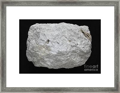 Kaolinite Framed Print by Dirk Wiersma
