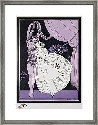 Karsavina Framed Print by Georges Barbier
