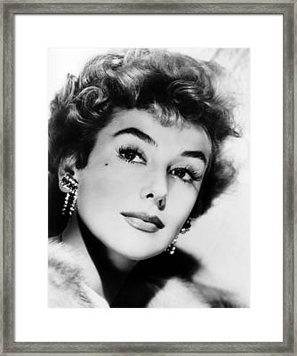 Kay Kendall, Ca. Mid-1950s Framed Print by Everett