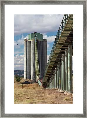 Kayenta Coal Mine Framed Print by Jim West