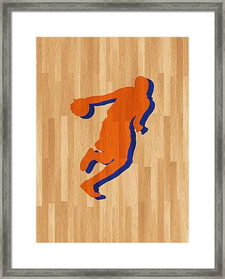Kevin Durant Oklahoma City Thunder Framed Print by Joe Hamilton